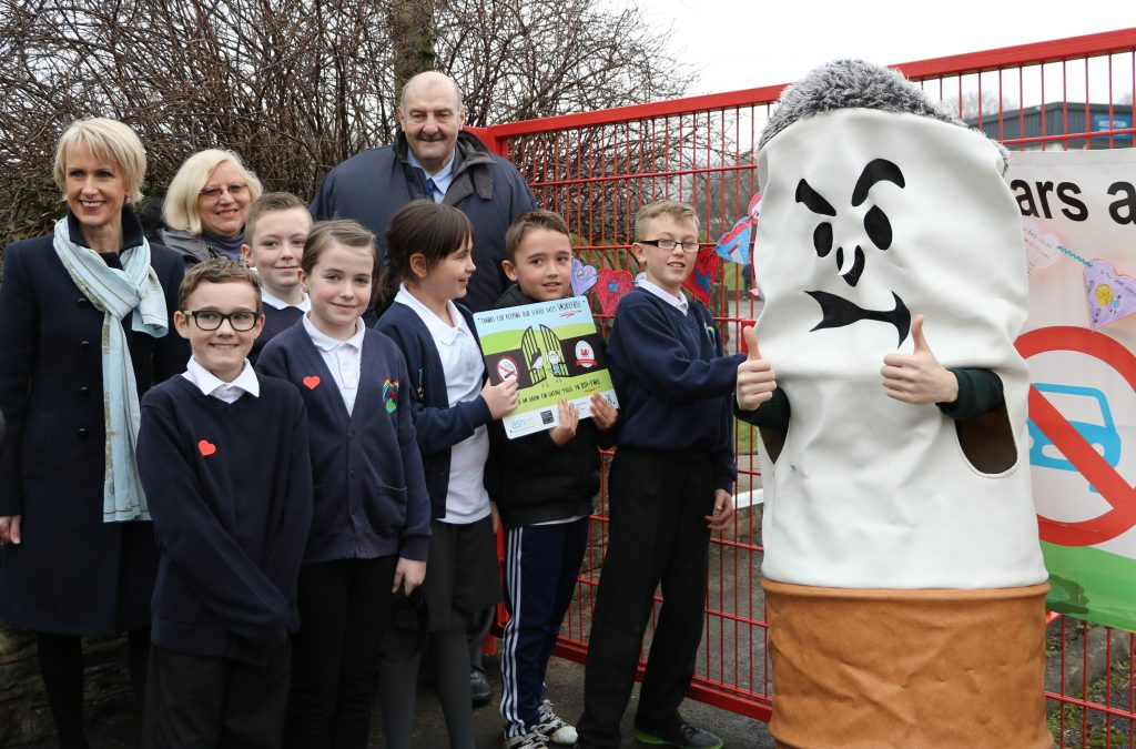 Neath Port Talbot Primary School Gates Become No Smoking Zones