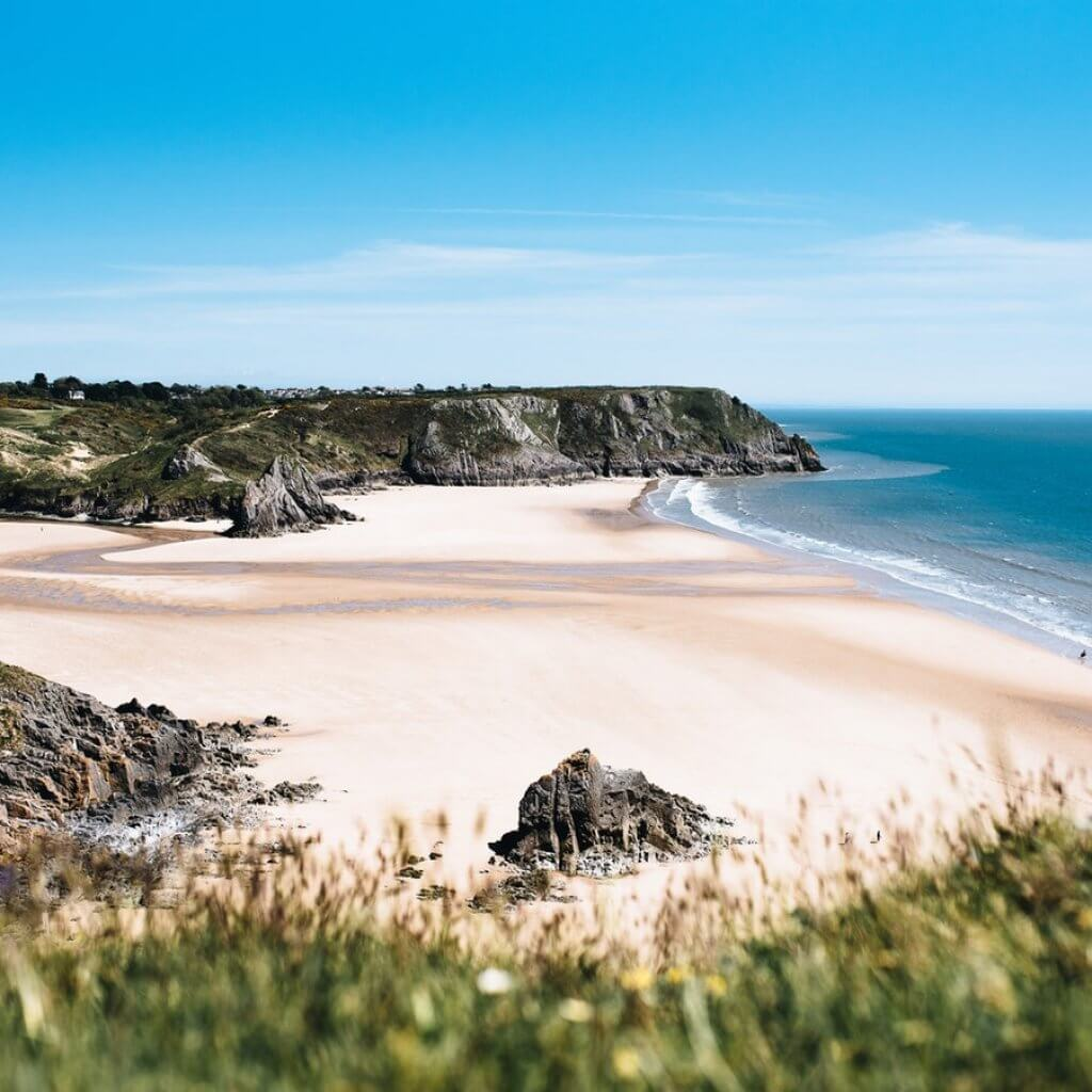 smokefree beaches, wales