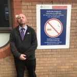 A helping hand for smokers from hospital's Smoke Free Officer