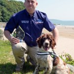 Scamp the tobacco sniffer dog scoops top award