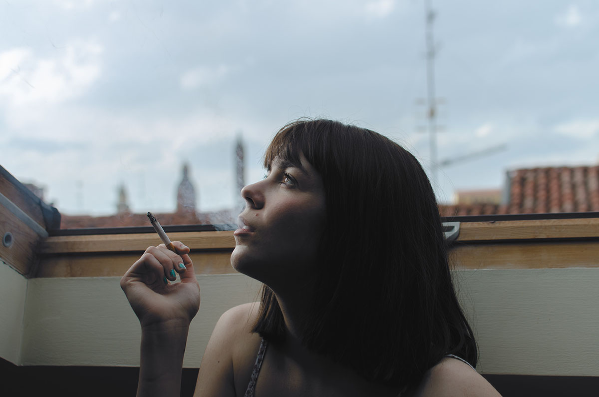 Quitting smoking in isolation